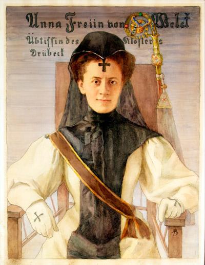 Eine unvergessene Äbtissin des Klosters Drübeck Anna Freiin von Welck