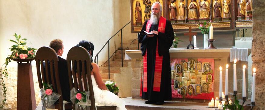 Heiraten in der Klosterkirche, Kloster Drübeck