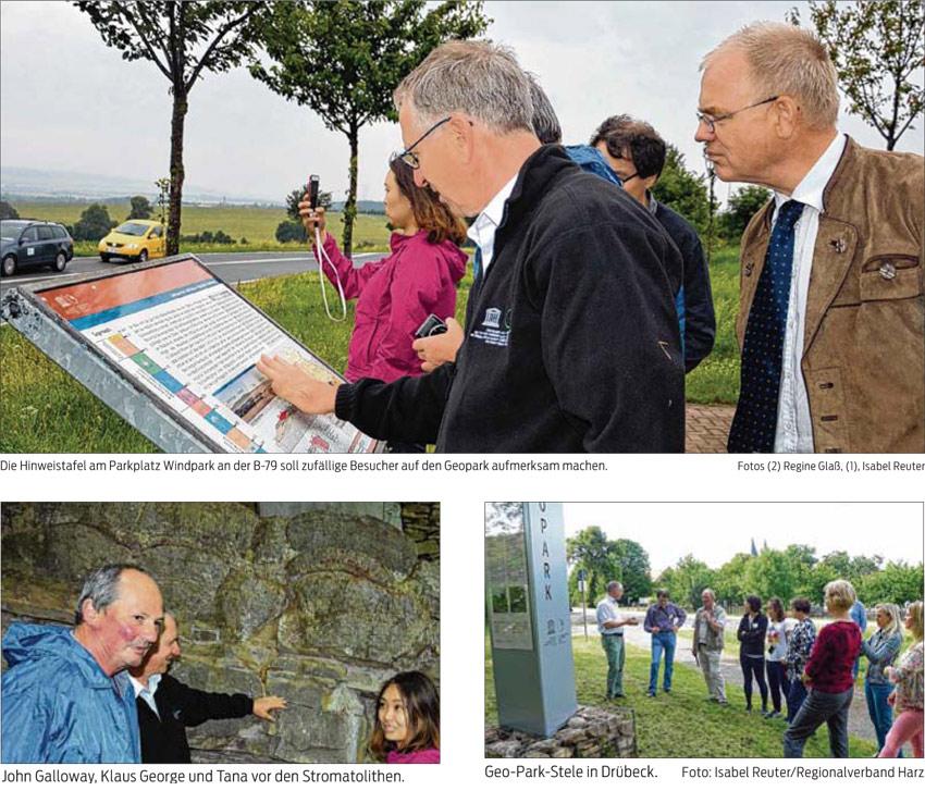 Unesco prüft Geopark im Harz Internationales Komitee ist eine Woche lang in der Region unterwegs Bei vielen Anwohnern unbekannt, bei Touristen beliebt: Standorte des Geoparks im Harz. Botschafter prüfen den Park auf internationale Kriterien und erleben dabei eine schöne Region.