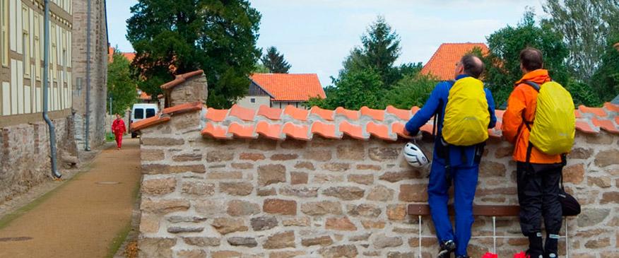 Pilgern auf dem Klosterwanderweg, Kloster Drübeck