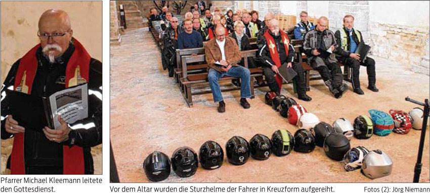 Biker-Gottesdienst in der Klosterkirche 2017